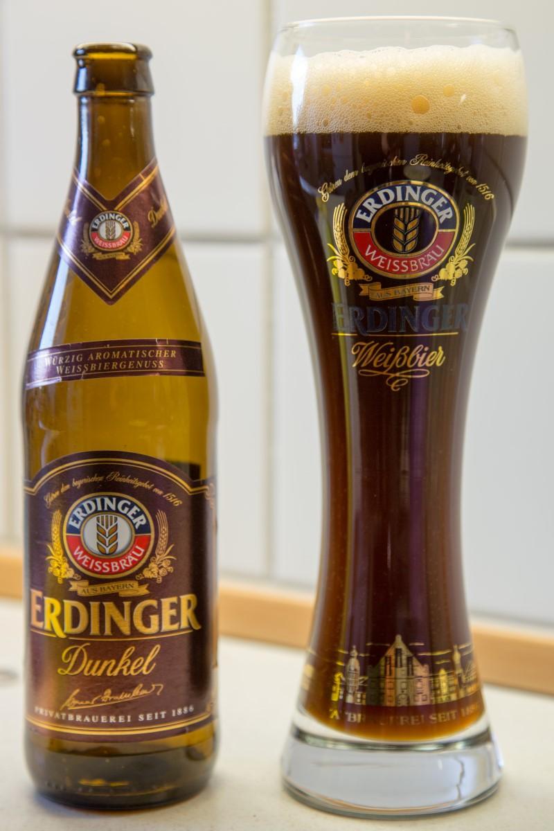 Erdinger Weissbier Dunkel Wine And Beer
